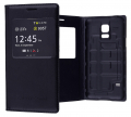 Ally Galaxy S5 Mini Mıknatıslı,Stand Ve Pencereli Flip Cover Kılıf