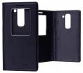 LG G2 MİNİ D620 MIKNATISLI,STAND VE PENCERELİ FLİP COVER KILIF