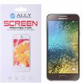 Ally Samsung Galaxy E7 E700 İçin Şeffaf Parlak Ekran Koruyucu Jelatin