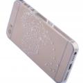 İphone 5 - 5s Taşlı Ultra İnce Şeffaf Silikon Kılıf