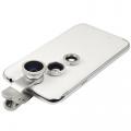Lq-001 3in1 Unıversal Smart Telefonlar İçin Kamera Lens Seti