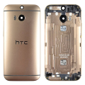 HTC ONE M8 FULL ARKA KAPAK GOLD