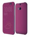 HTC ONE M8 DOT VİEW UYKU MODLU İNCE YAN KAPAKLI KILIF