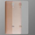 Xiaomi Mi4 Şeffaf Carbon Arka Koruma Bandı
