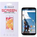 Motorola Nexus 6 Şeffaf Parlak Ekran Koruyucu Jelatin