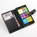 Nokia X2 Dual Standlı Cüzdan Kılıf