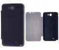 Ally Galaxy Note 2 N7100 Akıllı Şeffaf Kapak Flip Cover