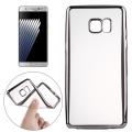 Ally Samsung Galaxy Note 7 Fan N935 İçin Lazer Kaplama Şeffaf Silikon Kılıf