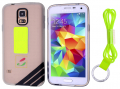 Ally Galaxy S5 İ9600 Best Koruma Boyun Askili Seffaf Silikon Kılıf