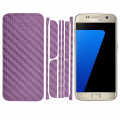ALLY GALAXY S7 EDGE G935 KARBON FİBER STİCKER SET