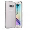 Ally Galaxy S7 Edge G935 Lazer Kaplama Ultra Slim Şeffaf Silikon Kılıf