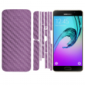 ALLY GALAXY A510 A5 2016 KARBON FİBER STİCKER SET