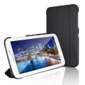 Ally Galaxy Tab 3 7.0  T210 Standlı Ultra İnce Deri Kılıf
