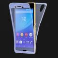 Sony Xperia M5 E5603, E5606, E5653 360 KORUMA SİLİKON KILIF