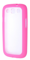 Ally Galaxy S3 İ9300 Transparan Bumper Kılıf