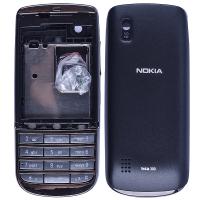 Nokia Asha 300 Full Kasa Kapak Tuş