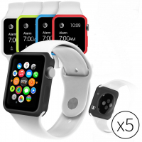 ALLY APPLE WATCH İÇİN 42MM 5Lİ SET SİLİKON KILIF