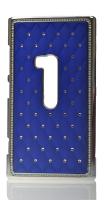 Nokia Lumia 920 Taşlı Kılıf Mavi .