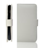 Sony Xperia J St26i Beyaz Cüzdan Kılıf