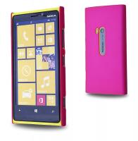 Nokia Lumia 920 Sert Plastik Kılıf Pembe