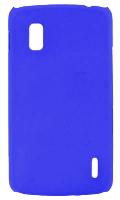 LG NEXUS 4 E960 SERT PLASTİK KILIF MAVİ