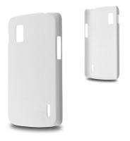 LG NEXUS 4 E960 SERT PLASTİK KILIF BEYAZ