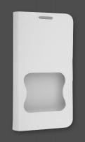 HTC DESİRE VC T328D İNCE KAPAKLI BEYAZ KILIF