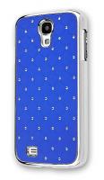 Ally Galaxy S4 İ9500 Taşlı Kılıf Mavi