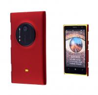 Nokia Lumia 1020 Sert Plastik Kılıf Bordo