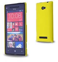 HTC WİNDOWS PHONE 8X SERT PLASTİK KILIF SARI