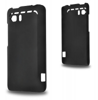 HTC RAİDER 4G G19 SERT PLASTİK KILIF SİYAH