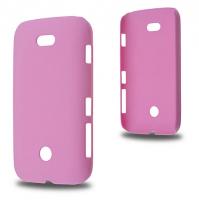 Nokia Lumia 510 Sert Plastik Kılıf Pembe