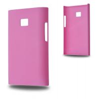 LG OPTİMUS L3 E400 SERT PLASTİK KILIF PEMBE