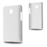 LG OPTİMUS L3 II E430 SERT PLASTİK KILIF BEYAZ