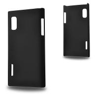 LG OPTİMUS L5 E610 SERT PLASTİK KILIF SİYAH