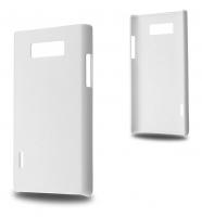 LG OPTİMUS L7 P700-P705 SERT PLASTİK KILIF BEYAZ