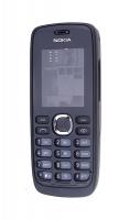 Nokia 112 Full Kasa-kapak-tuş Siyah
