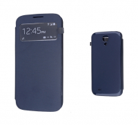 ALLY GALAXY S4 İ9500 S VİEW COVER KILIF SİYAH