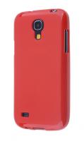 Ally Galaxy S4 Mini İ9190 Silikon Ultra Koruma Kılıf Kırmızı