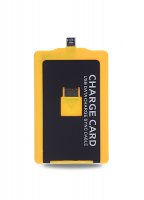 ALLY CHARGE CARD MİCRO USB KABLO SARI - SİYAH