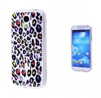 Ally Galaxy S4 İ9500 Silikon Desenli Şeffaf Kılıf