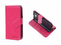 Ally Galaxy S3 İ9300 Kart Bölmeli Stand Kılıf Fuşya