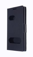 LG OPTİMUS L7 P700 İNCE KAPAKLI KILIF SİYAH