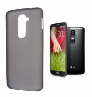 LG G2 D802 ULTRA İNCE SİLİKON KILIF SİYAH /SİYAH