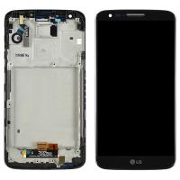 LG G2 D800 ORJ LCD EKRAN DOKUNMATİK ÇITALI