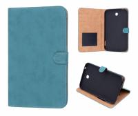 Ally Samsung Galaxy Tab 3 (7.0) T210- P3200 İçin Standlı Deri Kılıf Yeşil .