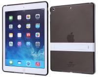 Apple İpad Air Standlı Şeffaf Silikon Kılıf