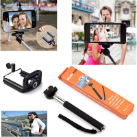 Monopod Cep Telefonu Ve Kamera Selfie Tripod Aparatı