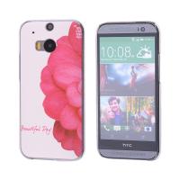 HTC ONE M8 ÇİÇEK DESENLİ PLASTİK KILIF