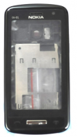 Nokia C6-01 Full Kasa-kapak-tuş Siyah